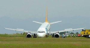 aereo fuori pista