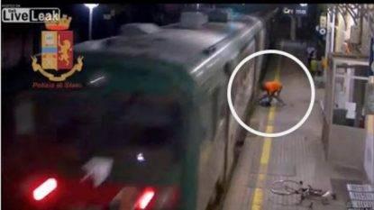 cerca di lanciare un ragazzo sotto il treno per sottrargli la bici- arrestato
