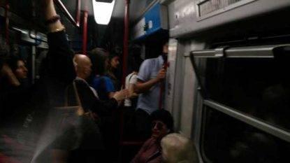 roma metro esplosione panico