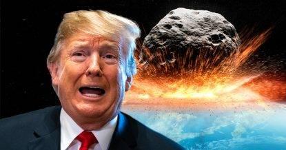 "La Nasa dichiara: ""Uniti con Trump per la difesa del pianeta Terra"""