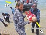 Foto neonati annegati in Libia
