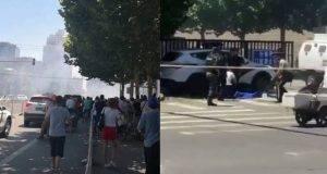 Pechino, bomba di fronte all'ambasciata statunitense