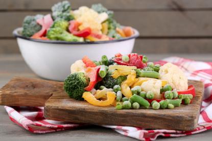 Rassegna 11.8. Richiamato un lotto di mix di verdure surgelate: sospetta presenza di pericolosa listeria