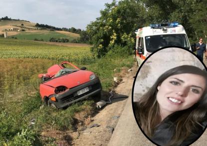 L'auto si schianta e si spezza in due: morta Laura, di soli 27 anni