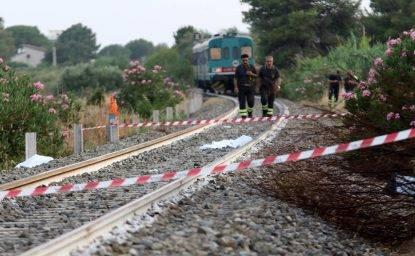 Treno investe famiglia: morti i due figli, grave la madre