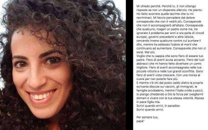 La bufala vergognosa della lettera del padre di Marta, morta a Genova: sciacallaggio politico sul dolore