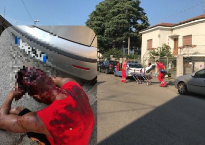 Inseguito in mezzo alla strada e massacrato a colpi di ascia in testa. 26enne è in fin di vita