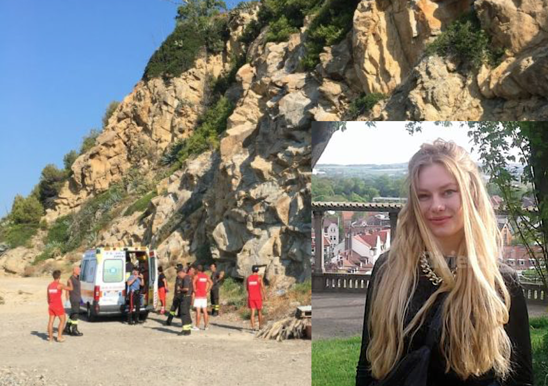 Sanremo, ragazza tedesca cade da una scogliera di 70 metri, è in fin di vita. Arrestato un tunisino