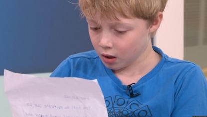 """Bimbo malato di 8 anni scrive alle aziende farmaceutiche: """"Abbassate i costi dei medicinali"""""""