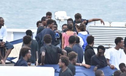 Nave Diciotti, fermate 4 persone: accusate di associazione per delinquere e stupro