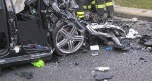 Tamponamento mortale sulla Palermo Catania: morti due 23enni e tre feriti gravi
