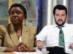 Cécile Kyenge e Matteo Salvini