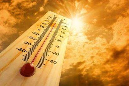 Caldo estivo a settembre