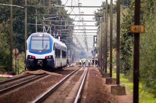 Cargo-bike investita da treno in Olanda