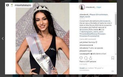 Chiara Bordi insultata sul web