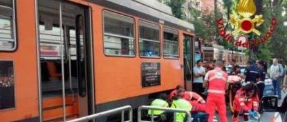 Clocahard ucciso da tram a Milano