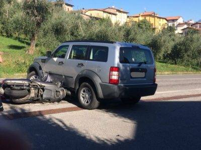 Incidente stradale a Polpenazze