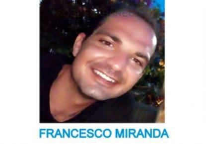 Napoletano 33enne scomparso in Spagna da tre giorni: si chiama Francesco Miranda