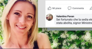 """Post choc dell'assessore sul profilo di Salvini: """"Occorre la sedia elettrica"""". Poi cancella e si scusa"""