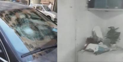 Distrugge auto, sputa su un anziano e lo picchia, distrugge statua della Madonna: sedato ed arrestato