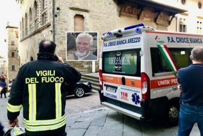Tragedia all'Archivio di Stato di Arezzo