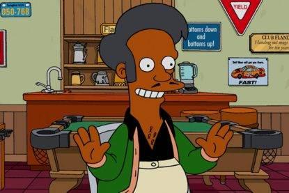 Addio ad Apu de I Simpson