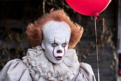 Clown killer in Inghilterra