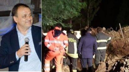Frana durante i lavori di emergenza, muore imprenditore assieme a tre operai