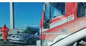Incidente stradale a Reggio Calabria