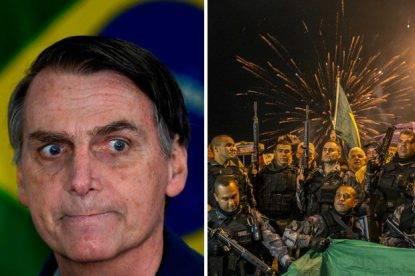 Jair Bolsonaro contro il Venezuela