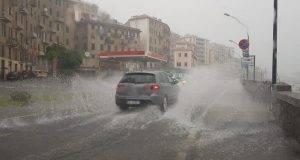 nubifragi e temporali in tutta Italia nel weekend