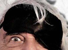 Beppe Grillo nella locandina di Insomnia
