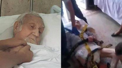 Il caso di Nonno Mariano, malato terminale di cancro e sfrattato a 91 anni per volere dei parenti