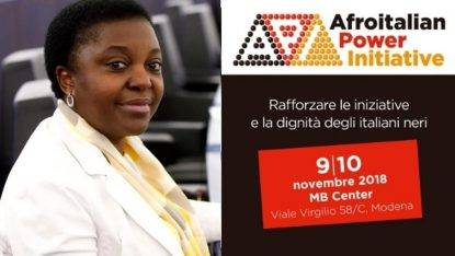 "La Kyenge fonda ""Afroitalian Power Initiative"", un movimento per ""gli afro-italiani"""