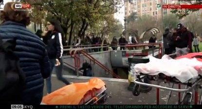 Milano, incidente nella metro- decine di feriti, anche sei bambini