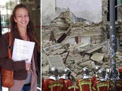 Trovata morta sotto le macerie Simona, l'italiana dispersa nel crollo della palazzina in Francia
