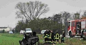 Spaventoso incidente sulla provinciale