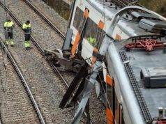 Treno deraglia in terra iberica