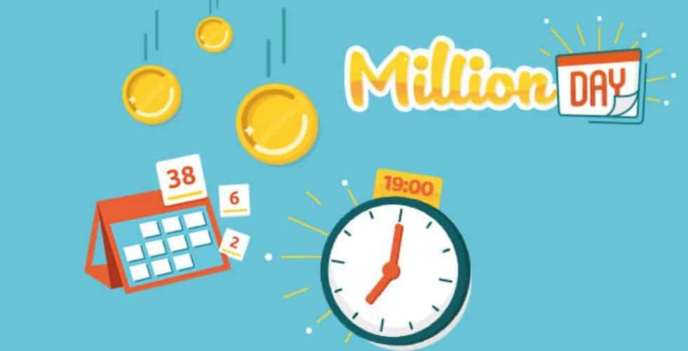 millionday - il logo del concorso