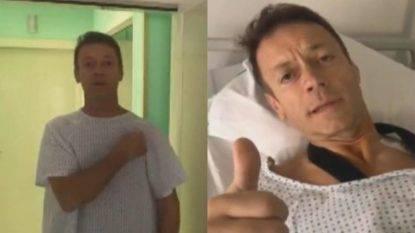 Rocco Siffredi operato, poi scherza dall'ospedale: