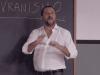 Salvini 'Alla Lavagna', polemiche