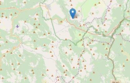 scossa di terremoto centro italia