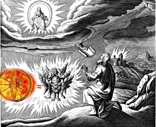 Ezekiele è stato il primo uomo a vedere un Ufo