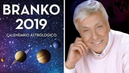 Calendario Oroscopo.Branko 2019 Calendario Astrologico In Uscita Il Nuovo