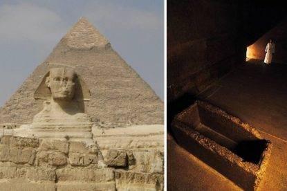 Nudi sulla piramide di Cheope. Due giovani fanno infuriare l'Egitto