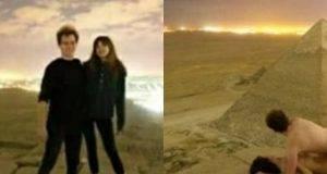 Turisti si riprendono mentre fanno sesso in cima alla Piramide di Cheope- il video indigna l'Egitto -min