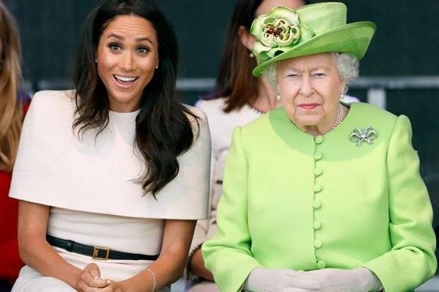 La Regina e Meghan Markle