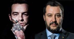 Salmo risponde a Salvini
