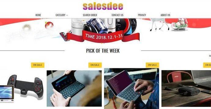 new products c471f 749e5 Truffe via web: Salesdee, il finto sito di saldi online che ...