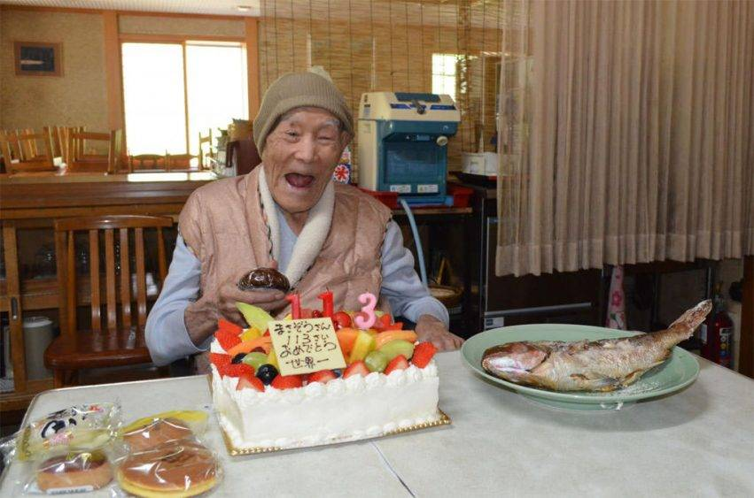 l'uomo più vecchio del mondo aveva 113 anni